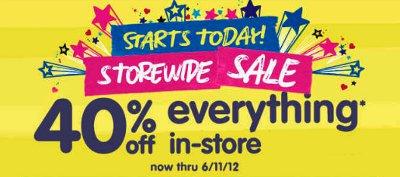 storewide sale,