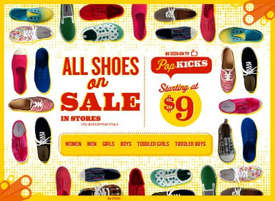 shoes, sale, pop kicks, women, men, girls, boys, toddler girls, toddler boys