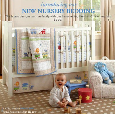 Kids Store on Store Promotions New Fall Bedding   399 Cribs At Pottery Barn Kids