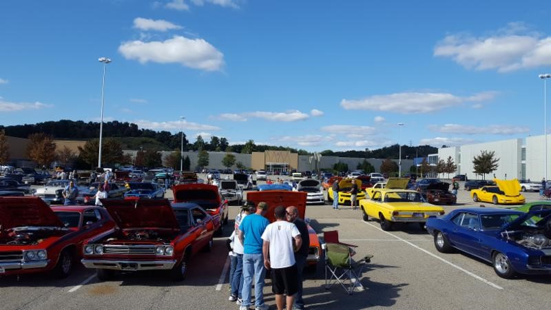 Car cruises in pittsburgh area