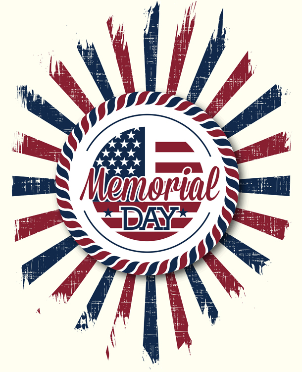 Memorial Day Hours, May 30
