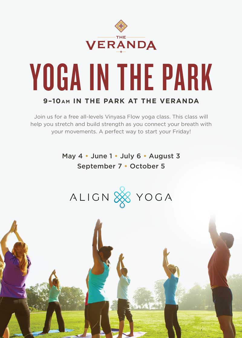 Free Yoga In The Park Event July 6th