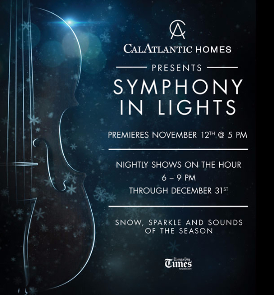Symphony in Lights Tree Lighting and Santa's Arrival presented by CalAtlantic Homes