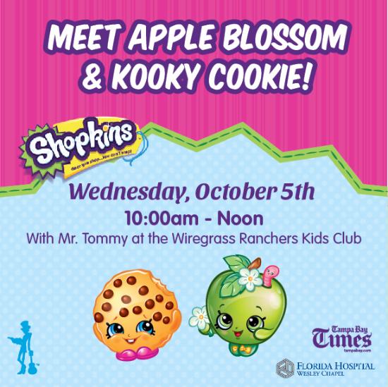 Meet Shopkins™ Kooky Cookie & Apple Blossom!