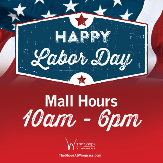 Labor Day Mall Hours