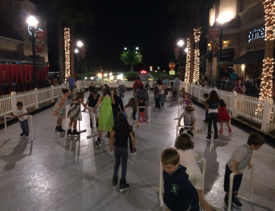 Synthetic Ice-Skating