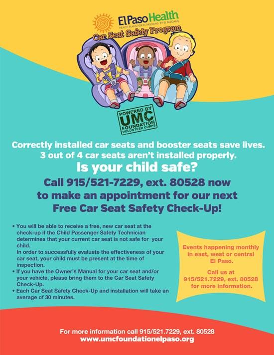 Booster Seat Laws In El Paso Tx