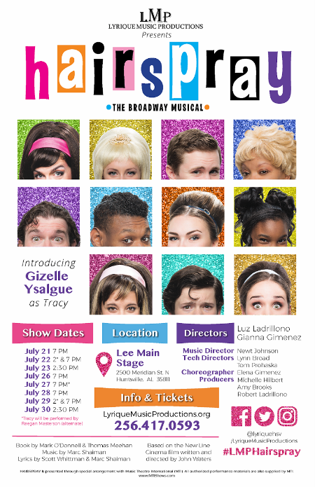 the nicest kids in town will perform the hit songs of hairspray along with highlights of their star talent