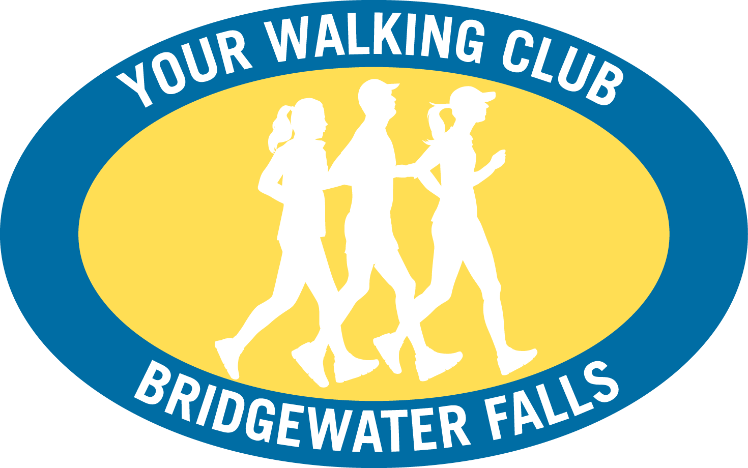 Walking People Logo joining YOUR WALKING CLUB