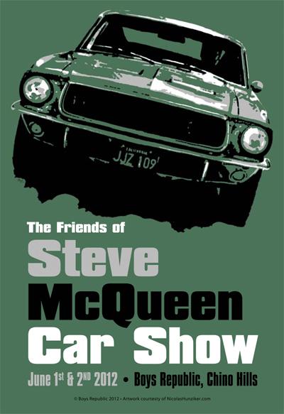 Fifth Annual Friends Of Steve Mcqueen Car Show June - Chino hills car show