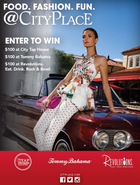 July Enter to Win at CityPlace