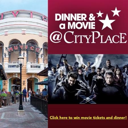XMen Apocalypse Dinner Movie CityPlace Muvico