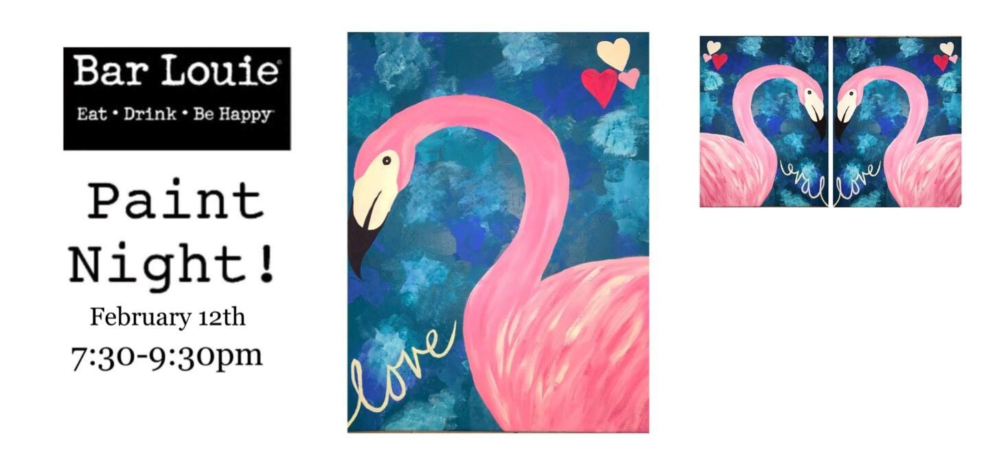 Come Join Us And Enjoy An Evening Of Painting, Eating And Drinking With  Your Friends At Bar Louie Milford!