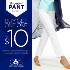 Perfact Pant Even Christopher and Banks