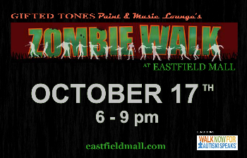 Eastfield Mall :: Gifted Tones presents Zombie Walk at Eastfield Mall ...