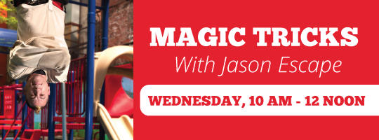 FREE Magic Session with Jason Escape
