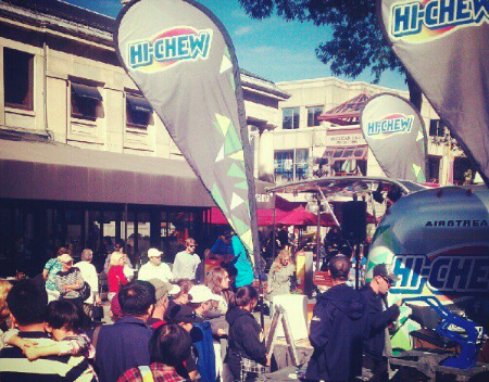 Hi Chew marketing event at Faneuil Hall Marketplace.