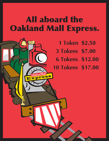 Oakland Mall Express Prices 2015