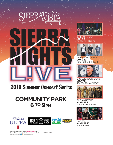 Sierra Vista Mall ::: Sierra Nights Live Summer Concert Series