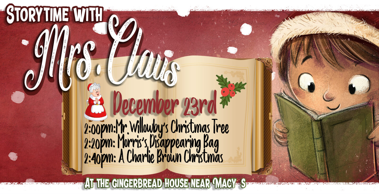 Music City Mall ::: Storytime with Mrs.Claus