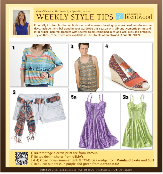 Style Tips Week 5