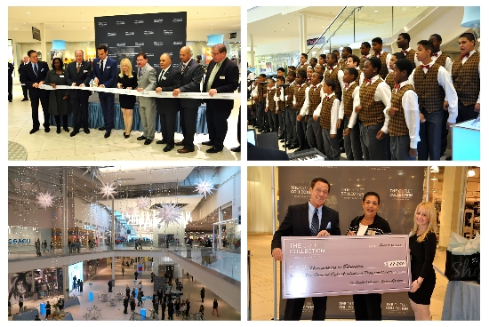 RIBBON CUTTING, DIGNITARIES & NEWARK BOYS CHORUS ReOPEN THE OUTLET
