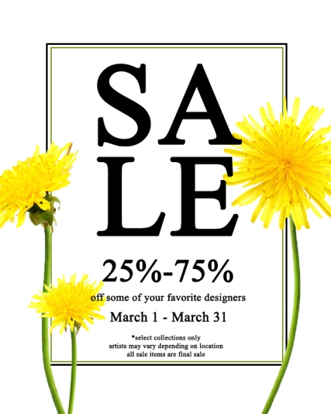 Annual March Sale