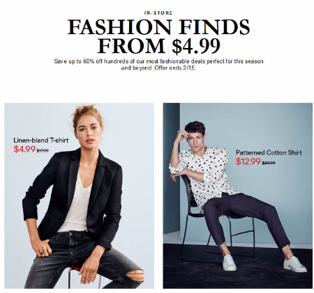 Up to 60% Off Sale