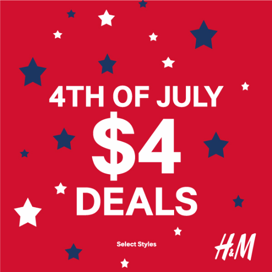 $4 -  4th of July Deal