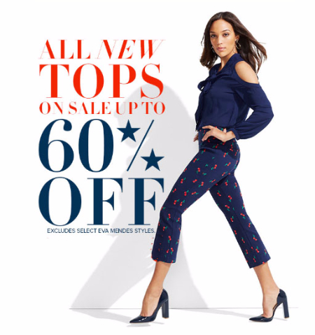 Up to 60% Off All New Tops