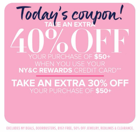 Extra 40% Off Your Purchase of $50 or More