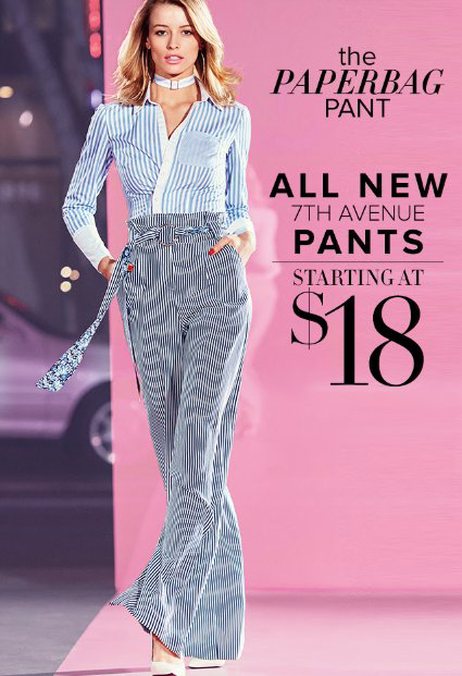 All New 7th Avenue Pants Starting at $18