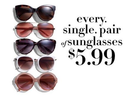 74c817df57 Connecticut Post Mall     Every Single Pair of Sunglasses  5.99 ...