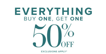 BOGO 50% Off Everything at New York & Company