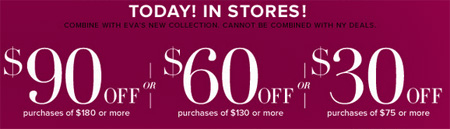 $90 Off $180 Purchase or More at New York & Company