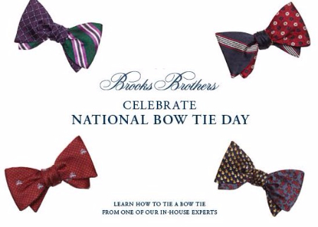 Celebrate National Bow Tie Day