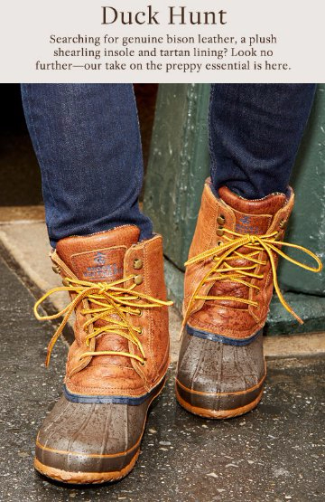 Our Best-Selling Duck Boots Are Back