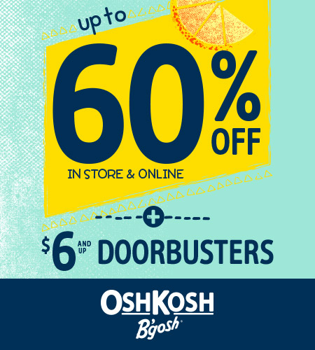 Up To 60% Off In Store & Online + $6 And Up Doorbusters