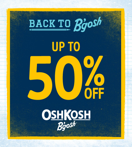 Back To B'gosh Up To 50% Off