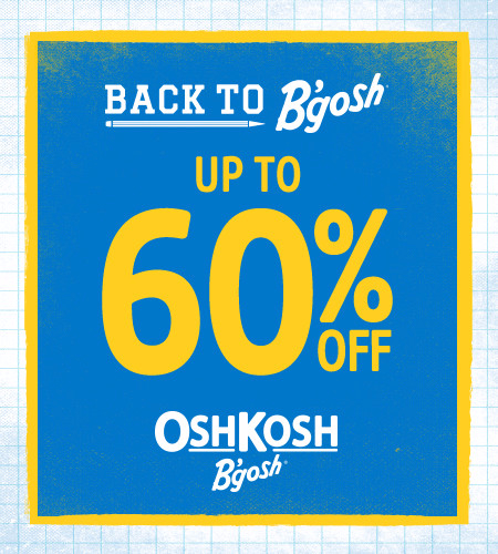 Back to B'gosh Up To 60% Off