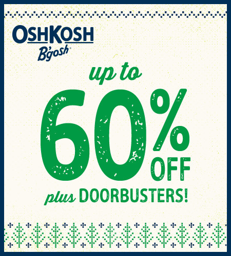 Up To 60% Off Plus Doorbusters!