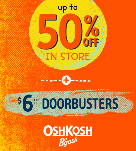 Up To 50% Off In Store