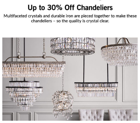 Marketstreet lynnfield extra 20 off clearance pottery barn pottery barn up to 30 off chandeliers mozeypictures Choice Image