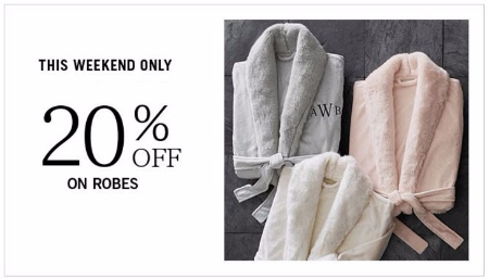 20% Off on Robes