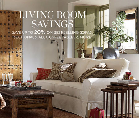 Save On Living Room Essentials At Pottery Barn