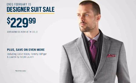$229 Designer Suits