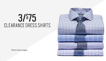 Ashley Park 3 For 75 Clearance Dress Shirts Men S Wearhouse