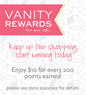 Vanity Rewards Loyalty Program at Vanity