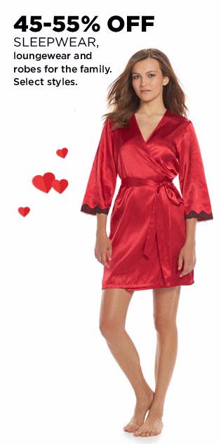 45-55% Off Sleepwear, Loungewear & Robes