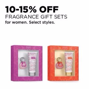 10-15% Off Fragrance Gift Sets